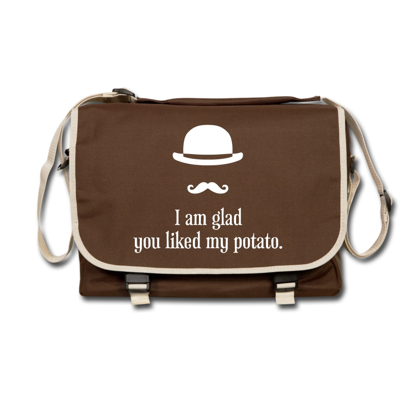 Sherlock: Like my potato - Umhängetasche