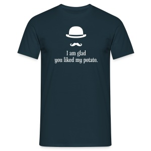 Sherlock: Like my potato. - Männer T-Shirt