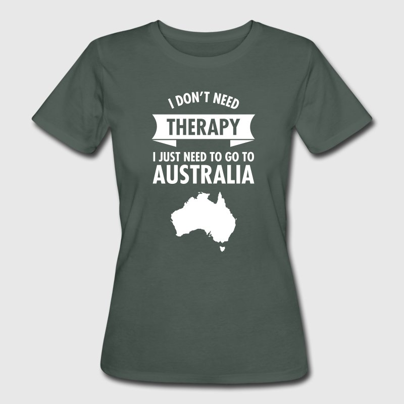 Therapy - Australia T-Shirts - Frauen Bio-T-Shirt