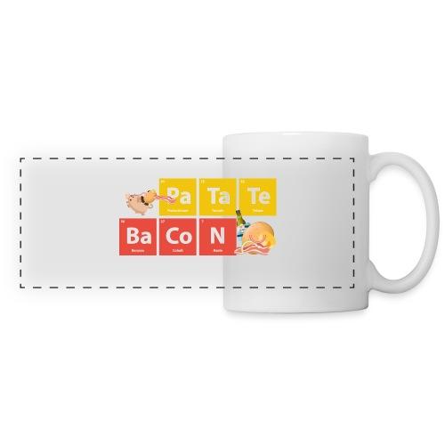 Tableau Périodique - Mug - Mug panoramique contrasté et blanc