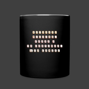 Keyboard missing - Full Colour Mug