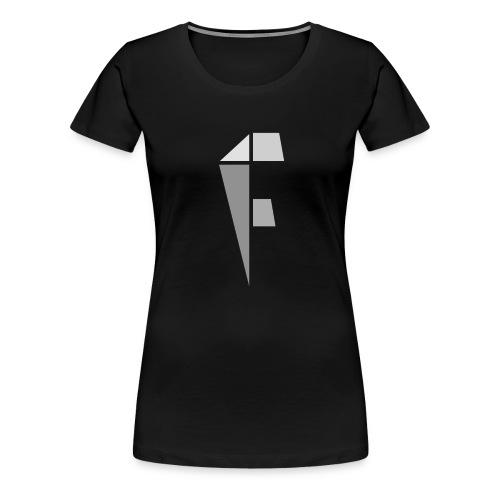 Women's Black Logo - Women's Premium T-Shirt