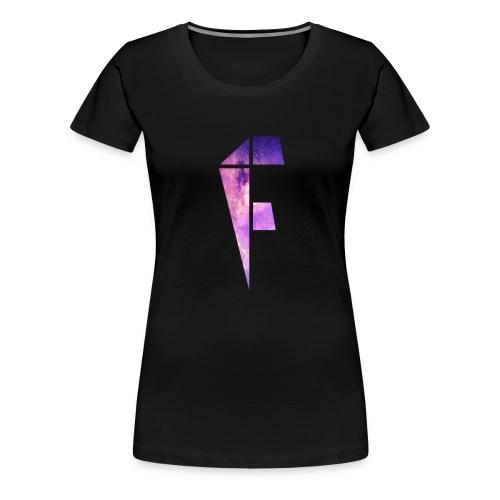 Women's Galaxy Logo - Women's Premium T-Shirt