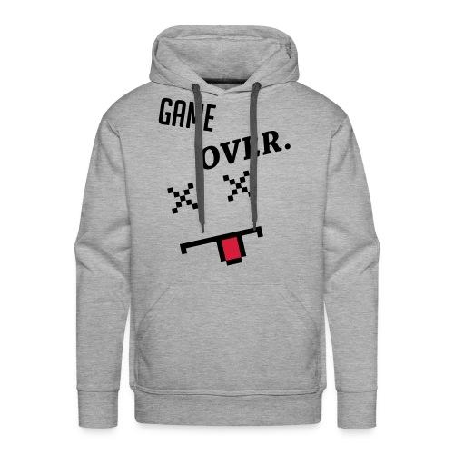 LIMITED EDITION! Game Over Geek Hoodie/Sweater - Men's Premium Hoodie