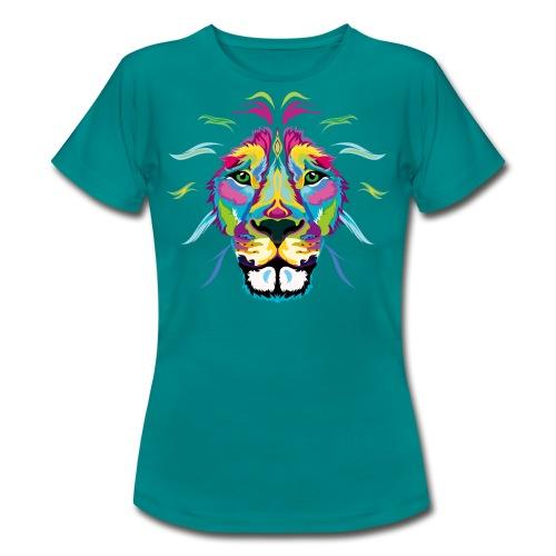 Fresh Colored Lion - Women's T-Shirt
