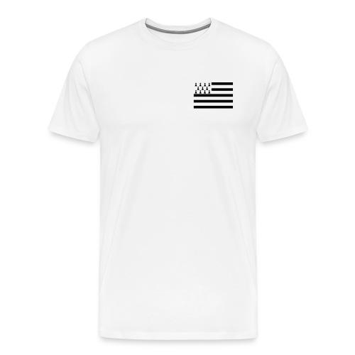 T Shirt Breton  Centre - Tee shirt Premium Homme - T-shirt Premium Homme