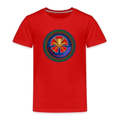 45 kids röd - Premium-T-shirt barn
