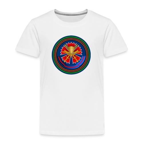 45 kids vit - Premium-T-shirt barn