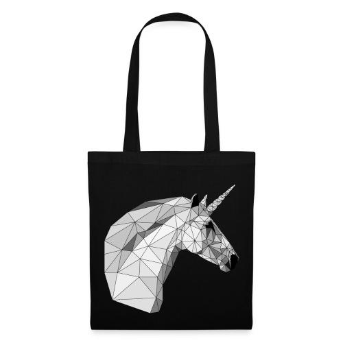Polygon-Einhorn Taschen & Rucksäcke - Stoffbeutel
