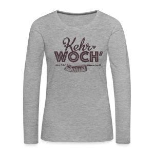 Kehrwoch - Mädle - Frauen Premium Langarmshirt