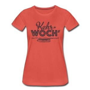 Kehrwoch - Mädle - Frauen Premium T-Shirt