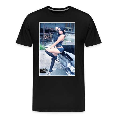 CADILLAC YEUKS - T-shirt Premium Homme