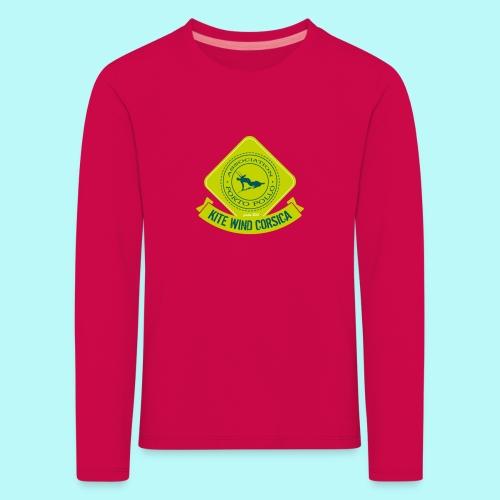 T SHIRT MANCHES LONGUES  ENFANT - T-shirt manches longues Premium Enfant