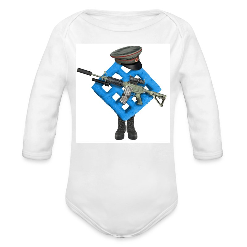 BWAF Soldier Baby Grow - Longlseeve Baby Bodysuit