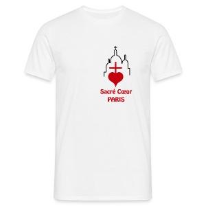 Sacré Cœur grand format Homme - T-shirt Homme
