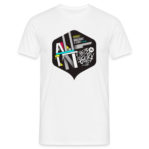 NGNG: WHITE / T-SHIRT - Men's T-Shirt