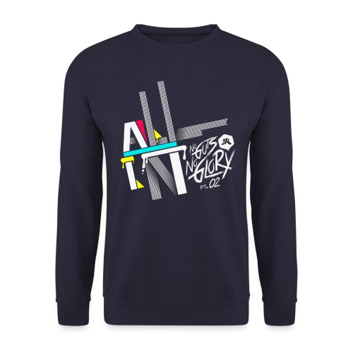 NGNG: NAVY / JUMPER - Men's Sweatshirt