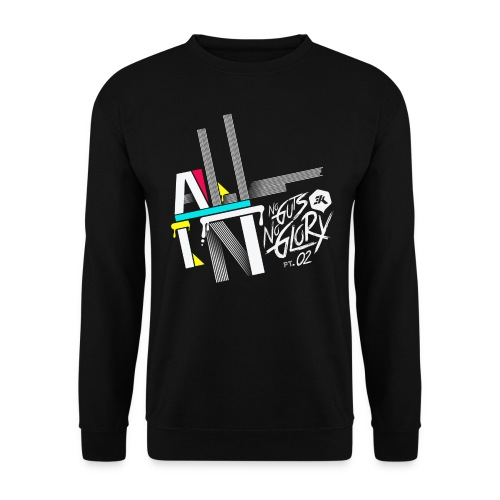 NGNG: BLACK / JUMPER - Men's Sweatshirt