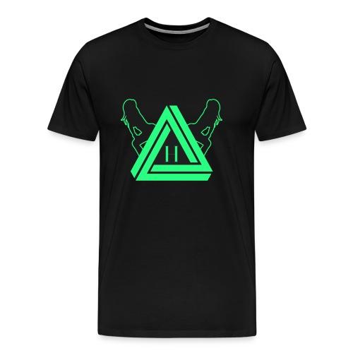 HYVE TRAP BLACC (Shirt) - Männer Premium T-Shirt