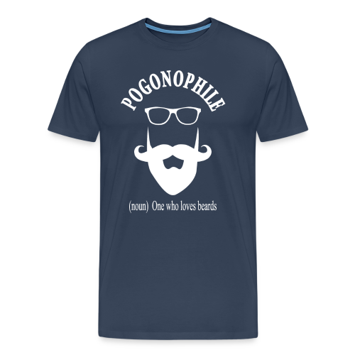 Pogonophile - Men's Premium T-Shirt