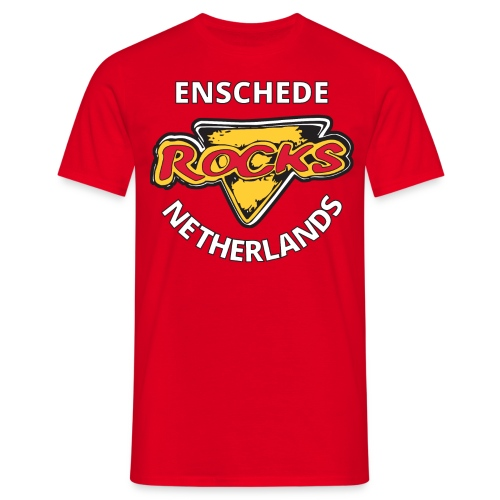 Color Cafe Rocks Logo T-Shirt - Mannen T-shirt