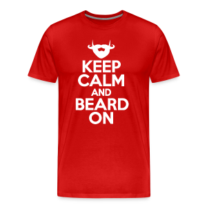 Beard On - Men's Premium T-Shirt