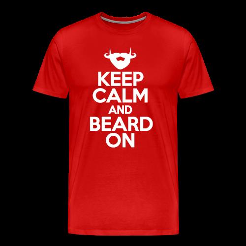 Beard On - Men's Premium T-Shirt