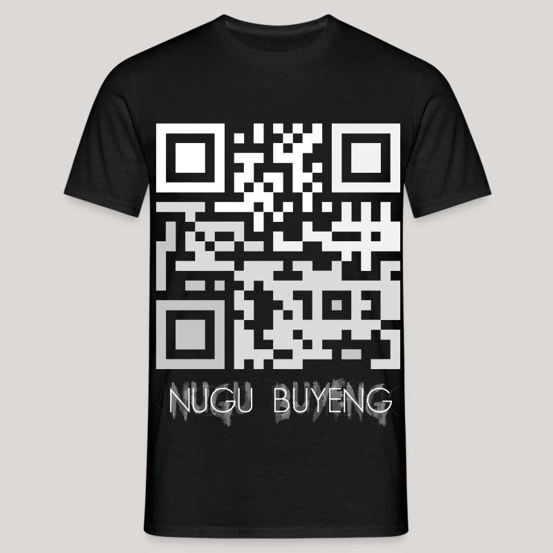 Wer das scannt ist doof! - Nugu Buyeng [Black] - Männer T-Shirt