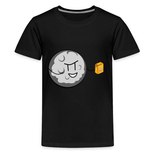 Crappy Werewolf Jokes Moon Tee - Teenage Premium T-Shirt