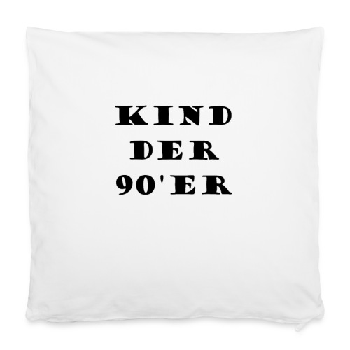 Kissen, Kind der 90'er - Kissenbezug 40 x 40 cm