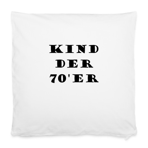 Kissen, Kind der 70'er - Kissenbezug 40 x 40 cm