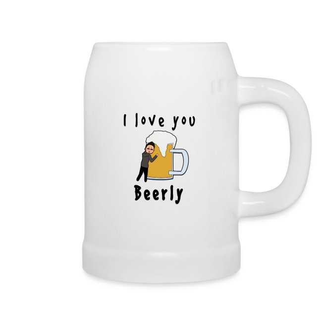 I Love You Beerly Stein