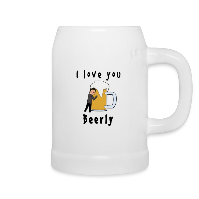 I Love You Beerly Stein - Beer Mug