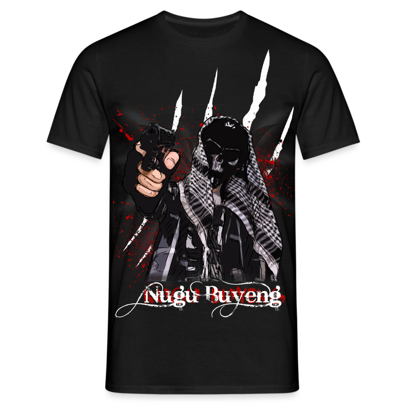 死没 #3.2 - Nugu Buyeng [Black] - Männer T-Shirt