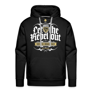 Let The Rebel Out! - Männer Premium Hoodie