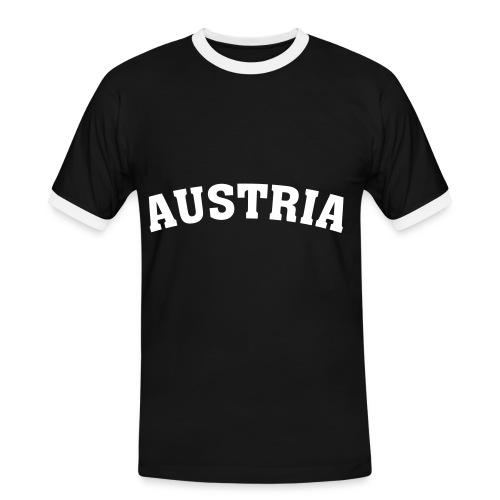 Shirt Austria schwarz - Männer Kontrast-T-Shirt