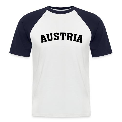 Shirt Austria weiß - Männer Baseball-T-Shirt