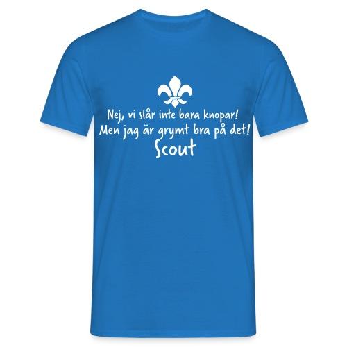 Knopar - T-shirt herr