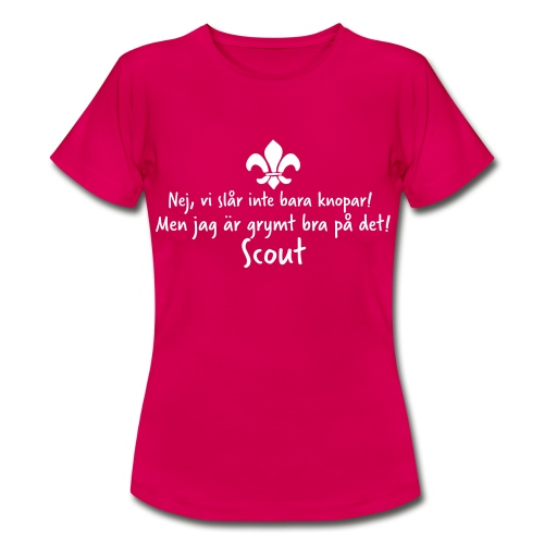 Knopar - T-shirt dam