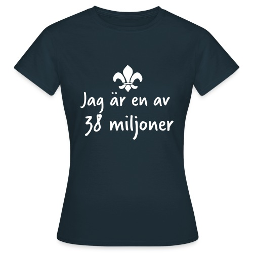 38 Miljoner  - T-shirt dam
