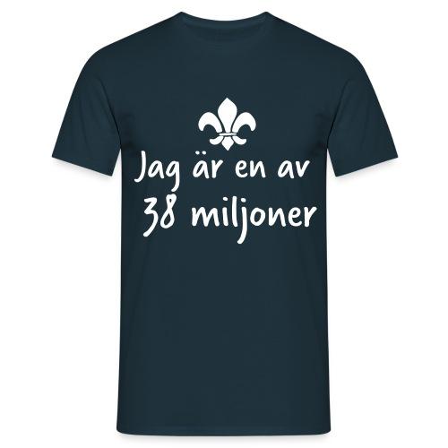 38 Miljoner  - T-shirt herr
