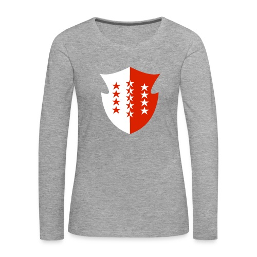 Valaisanne - T-shirt manches longues Premium Femme
