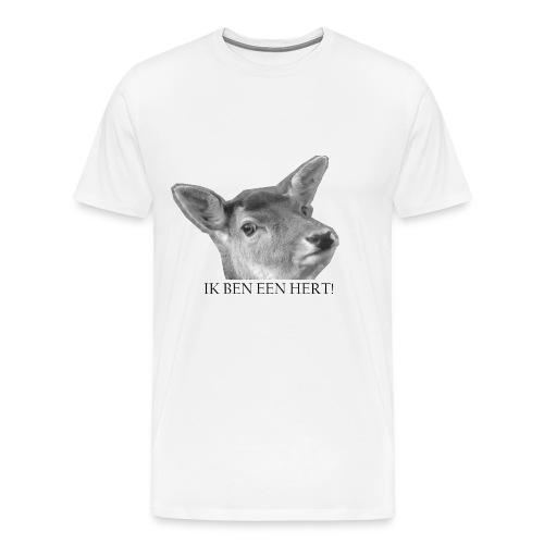 IK BEN EEN HERT! SHIRT - Mannen Premium T-shirt