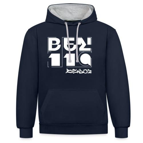 BENDOZ - Hoodie unisex (2 Colours) / 119 - Kontrast-Hoodie