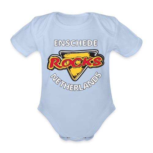 Short Sleeve Baby Body - Baby bio-rompertje met korte mouwen