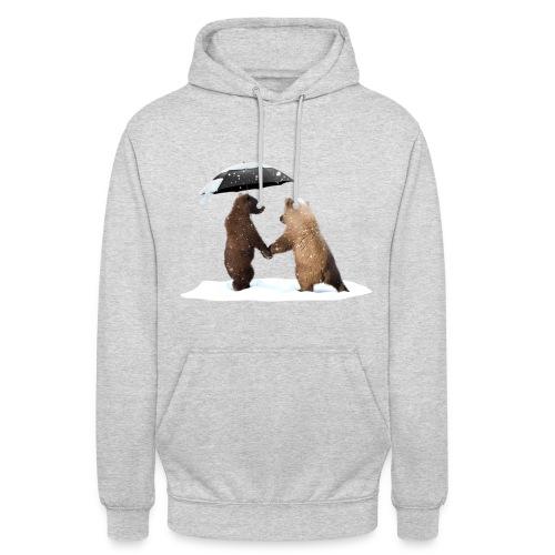 Junge-Bären-Liebe Pullover & Hoodies - Unisex Hoodie
