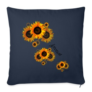 Girasoli-Devotion - Sofa pillow cover 44 x 44 cm