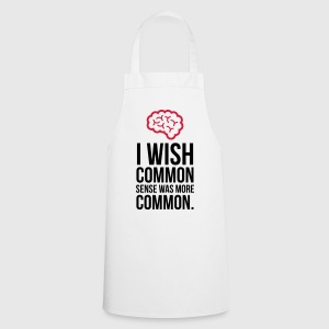 Why no one has common sense?  Aprons - Cooking Apron
