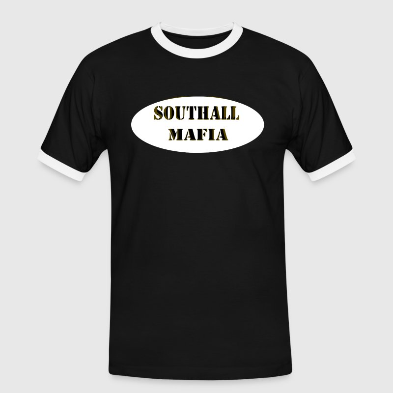 Southall Mafia t-shirt for London dwellers - Men's Ringer Shirt