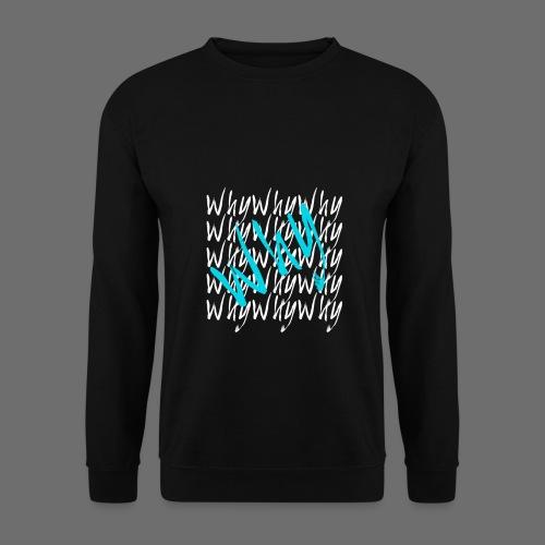Why? Paris - Sweat Homme  Bleu - Sweat-shirt Homme